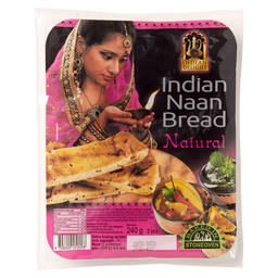 NAAN BREAD NATURAL