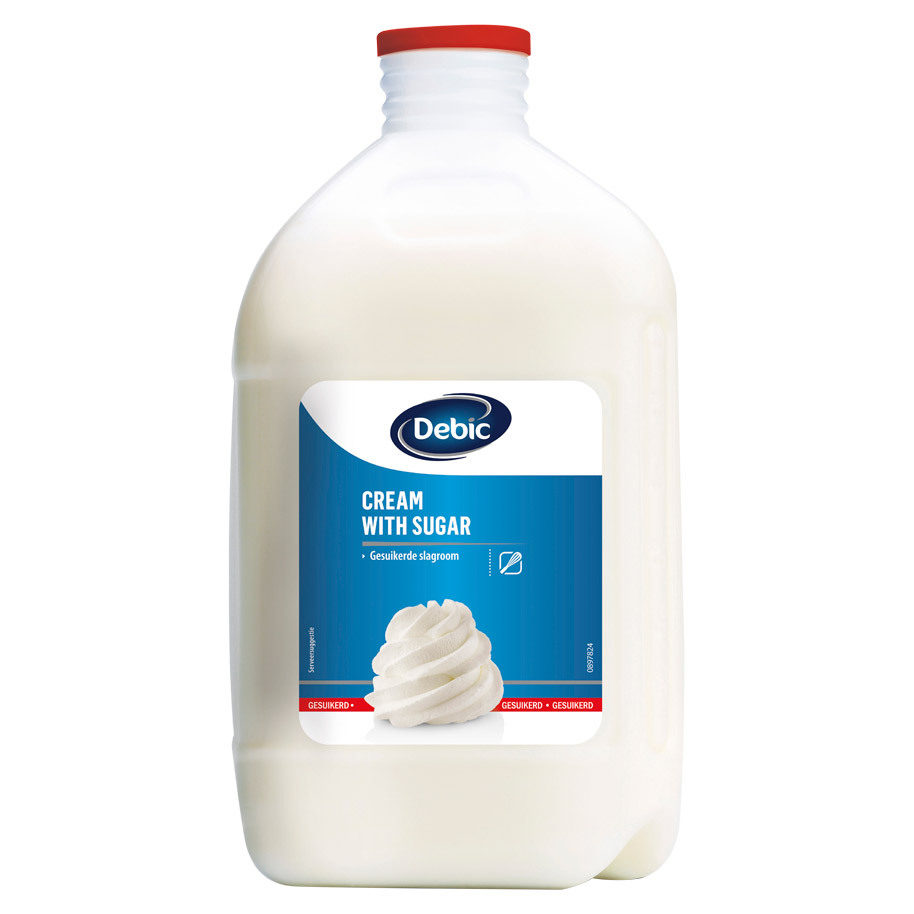 WHIPPING CREAM WITH SUGAR 35%