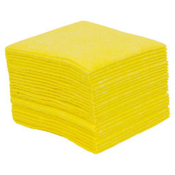 Cleaning cloth yellow, kitchen