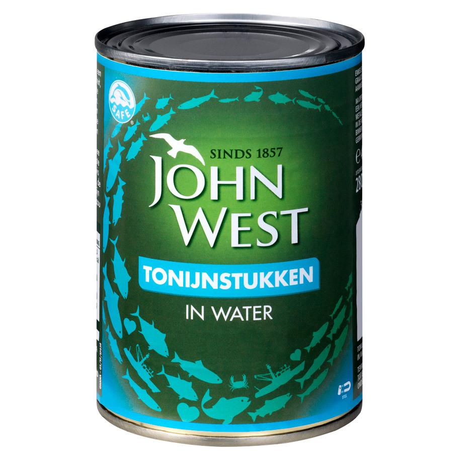 TONIJN STUKJES WATER  JOHN WEST
