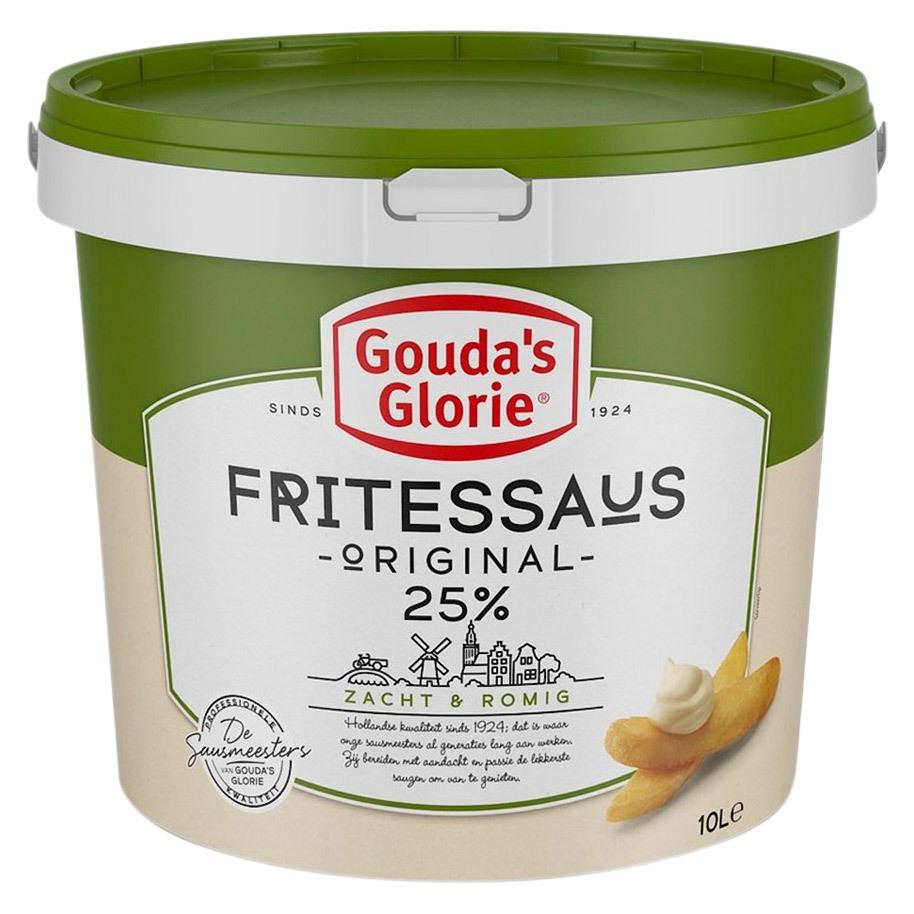 FRITESSAUS GROEN 25% ZACHT & ROMIG