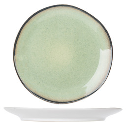 FEZ GREEN PLAT BORD D28CM