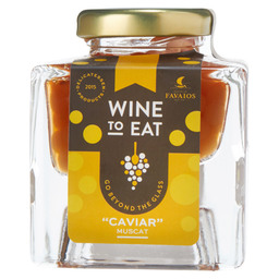 "WINE TO EAT - MUSCAT WIJN """"KAVIAAR"""""