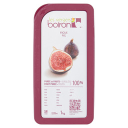 FROZEN FRUIT PUREE FIG 100%