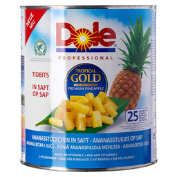 ANANAS TIDBITS M.SAP DOLE TROPICAL GOLD