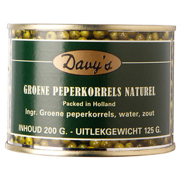 PEPPERS GREEN DAVY'S 125/200GR