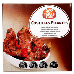 MINI RIBS PICANTE APP 27 PC.