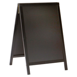 DUPLO SANDWICH BOARD 55X85 CM BLACK