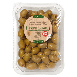 OLIVES NATURAL FRESH GREEN STONED