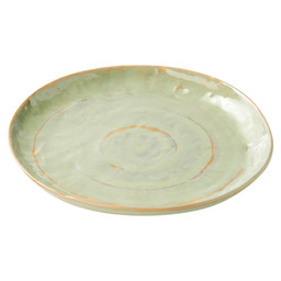 PURE PLATE 28 CM SEA GREEN