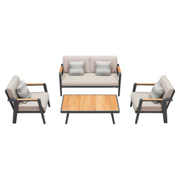 697730 EMOTI LOUNGE SET 2S 4 PCS