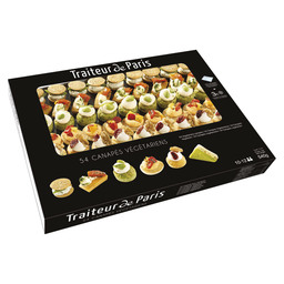 CANAPES VEGETARIAN SAVOURY