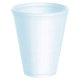 FOAM BEAKER EPS 207ML WHITE