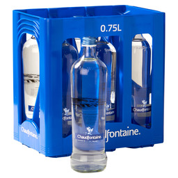 CHAUDFONTAINE STILL GLAS 75CL
