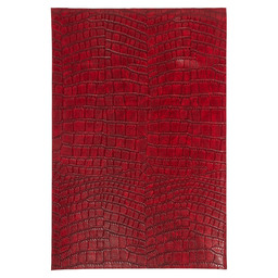 PLACEMAT 30X45CM CROCODILE LOOK RED