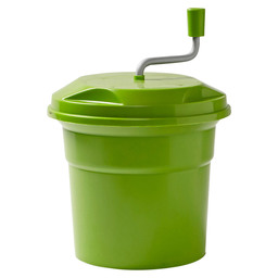 SALAD SPINNER 12L PLASTIC GREEN