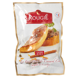ESCALOPES FOIE DE CANARD 40-60 GR ROUGIE