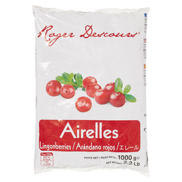 CRANBERRIES RED AIRELLES ROUGES