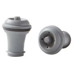WINE STOPPER GREY VACUVIN