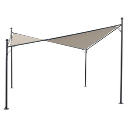 FESTA PARTY TENT 4X4M ROYAL GREY / ECRU