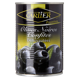 PITTED BLACK OLIVES CARTIER