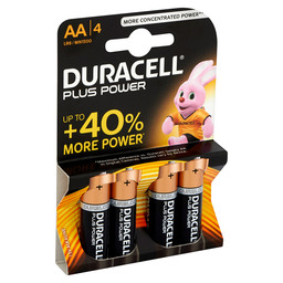 PLUS POWER DURACELL AA VERV:54000660