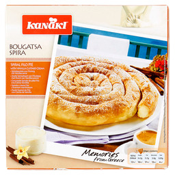 BOUGATSA SPIRA SPIRAL CREAM PIE