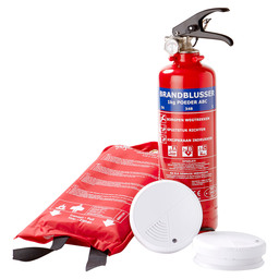 FIRE SAFETY SET 3-PIECE