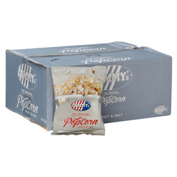 POPCORN MINI BAG SWEET & SALT 22GR