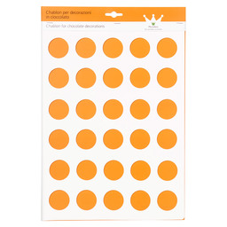 SILICONE MAT DECO ROND 42MM
