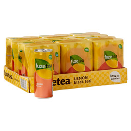 FUZE BLACK TEA LEMON BLIK 0,25L