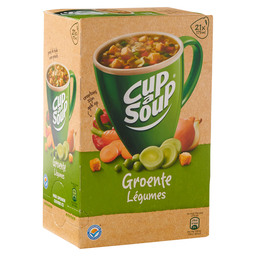 GROENTENSOEP  CUP A SOUP CATERING