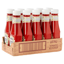 HEINZ TOMATO KETCHUP RED BOTTLE 300ML