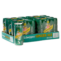 GINGER ALE 4X6X33CL