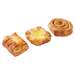 MINI DANISH SELECTION SWEET PUFF PASTRY