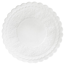 PLACE MAT WHITE 9 CM 8-PLY