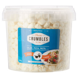 CHEESE CRUMBLES NATUREL