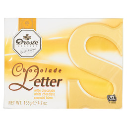 CHOCOLADELETTER S WIT