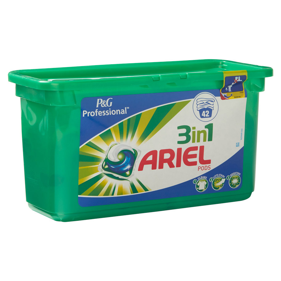 ARIEL 3-IN-1 PODS REGULAR 42 PODS