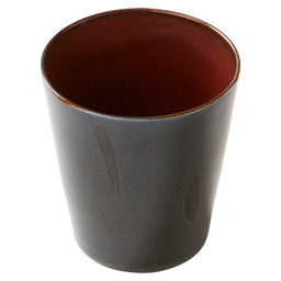 CUP CON. 8,5XH9,5CM TDR D.BLUE/RUST