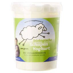 SHEEP YOGHURT VOL BIO VREUGDEHOEVE