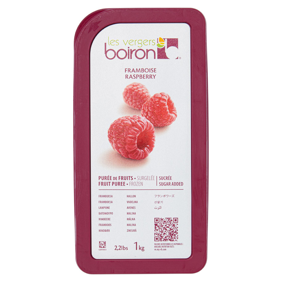 FROZEN FRUIT PUREE WITH ADDED SUGAR: RAS