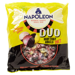 NAPOLEON DUO DROP FRUIT KOGELS ZOET