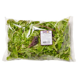 LETTUCE MIX MESCLUN WASHED 250 GRAM
