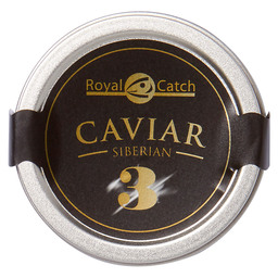 CAVIAR ROYAL CATCH NO3 SIBERIAN