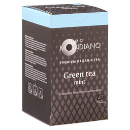 GREEN TEA MINT  ORGANIC 20X1,5 GR, LONG
