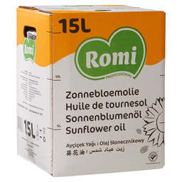 SUNFLOWER OIL BIB ROMI