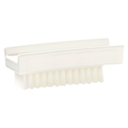 NAIL BRUSH HACCP WHITE 110X45MM