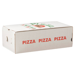 CALZONE BOX 30X16X10 WHITE SOLE KRAFT