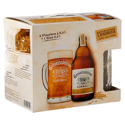 GREVENSTEINER ORIGINAL 5X50CL + GLAS
